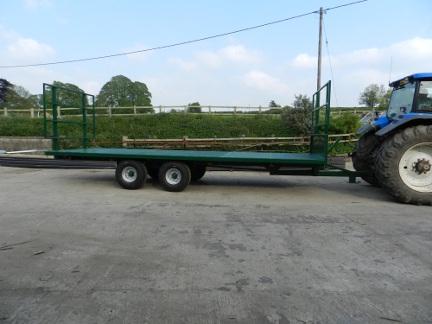 Flat Bed Trailer Farm Equipment Symms Fabrication