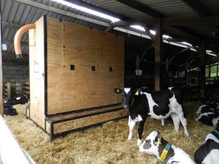 Interior Bulk Bin Feed Bins Symms Fabrication Agricultural And