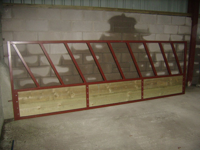 Symms Fabrication Feed Barrier