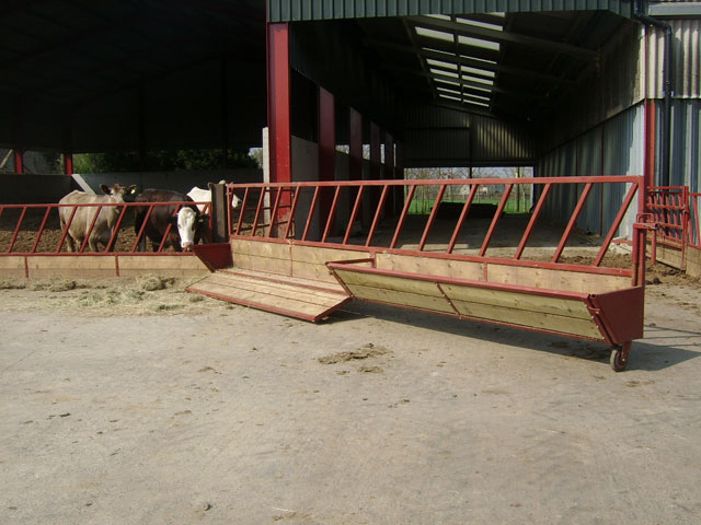 Symms Fabrication Feed Barriers